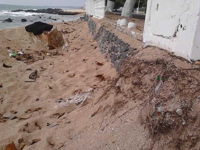 Resultado de imagem para roubo de areia nas praias de são tomé e príncipe