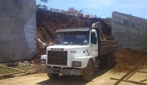 obra camião
