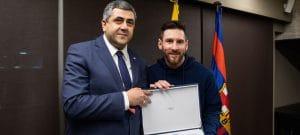 Messi é nomeado Embaixador da ONU para o Turismo Responsável