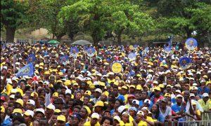 Patrice e ADI pedem maioria absoluta no comício do Além