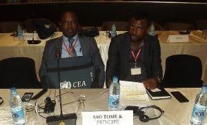 Téla Nón N´Djamena -STP nos grupos 1 e 2 dos trabalhos temáticos da 34ª Reunião do CIP