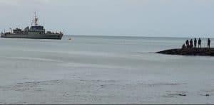 Interceptado navio pesqueiro com bandeira da Namíbia e com pescadores taiwaneses