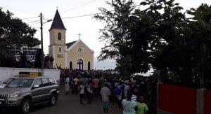 MLSTP abriu campanha eleitoral em Cantagalo
